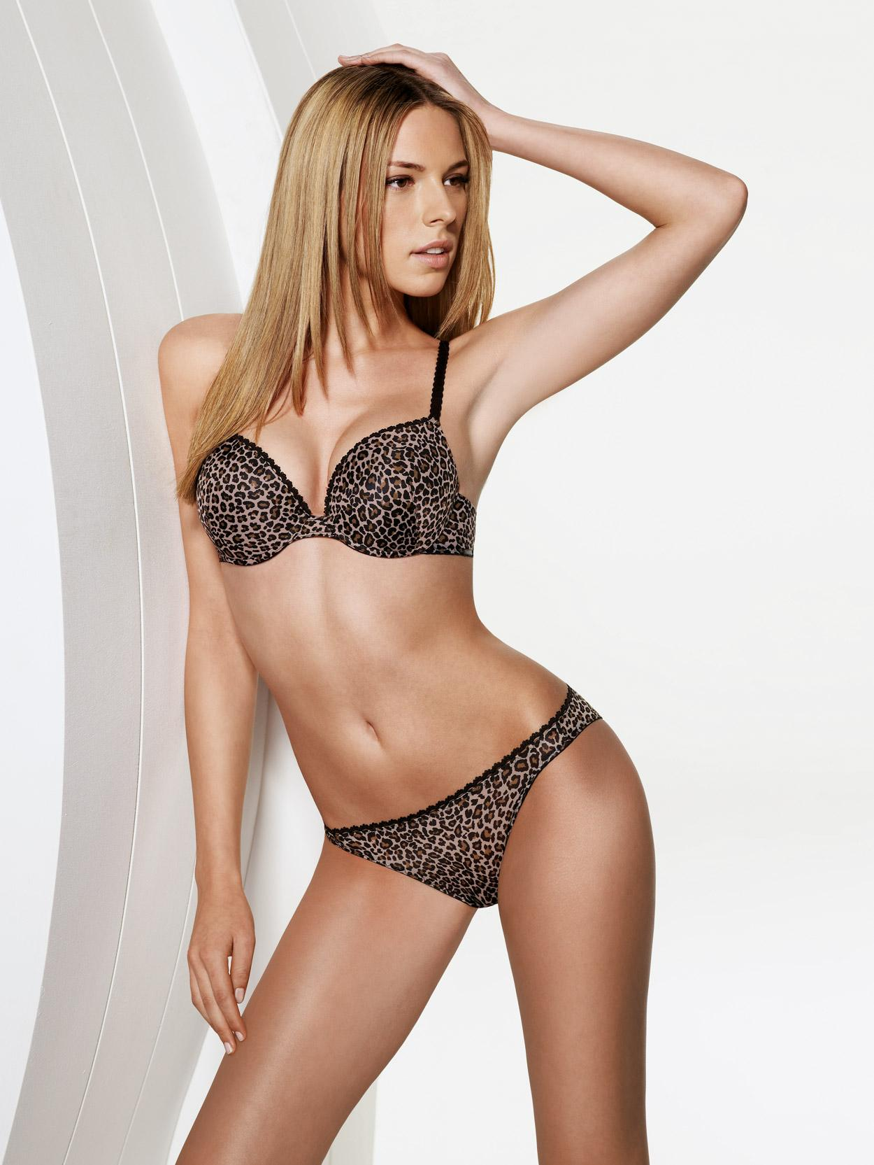tijgerprint lingerie